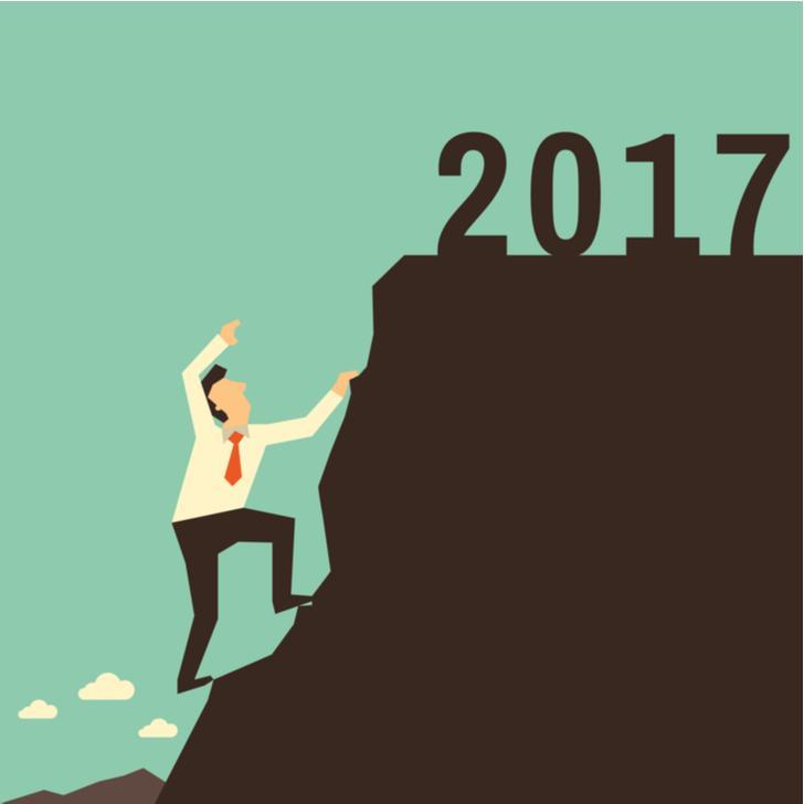 2017 niet zo'n makkelijk jaar