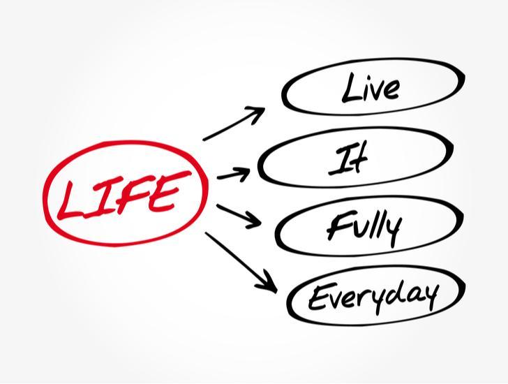 Het leven is te kort voor een gemiddeld bestaan