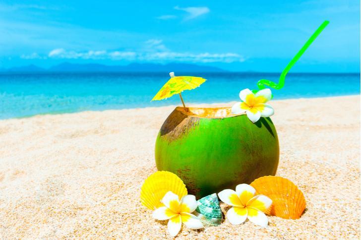Cocktails chappen op de Bahama's