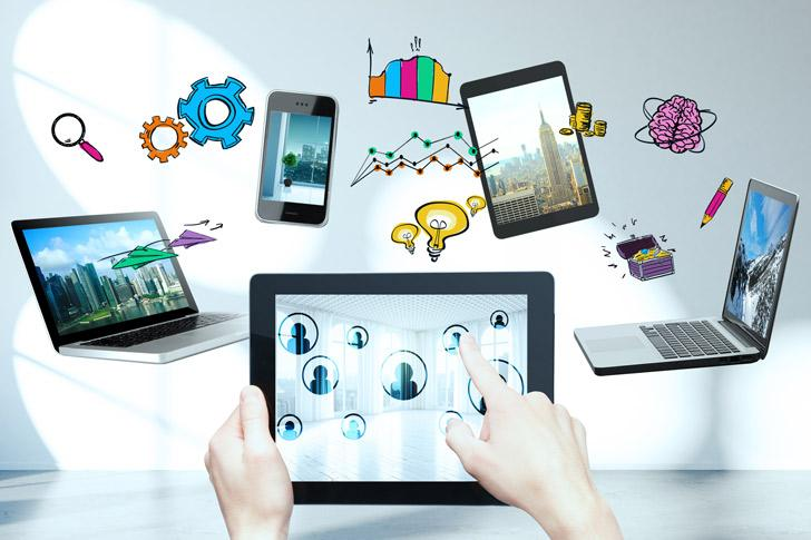 Data op verschillende apparaten