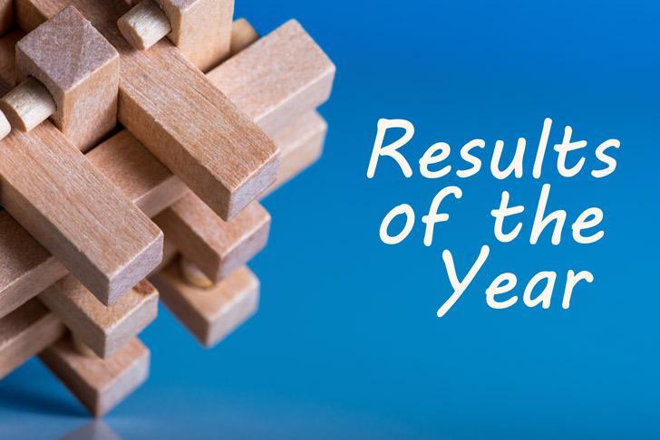 het beste resultaat van het jaar
